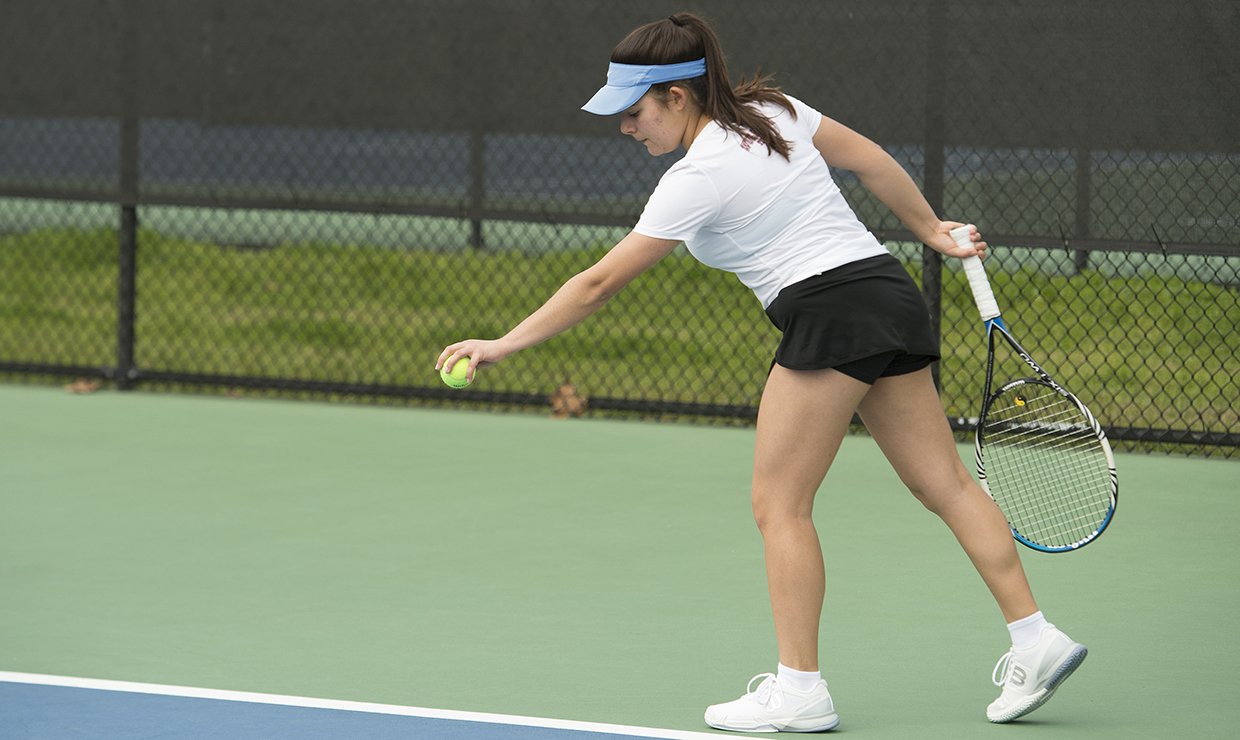 Photo for Wolf Pack tennis blanks Bethel on Saturday morning