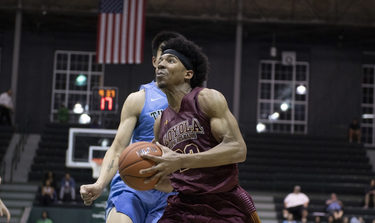 separation shoes 3ad0a 70f8e Loyola University New Orleans - Wolf Pack Drop 97-84 ...